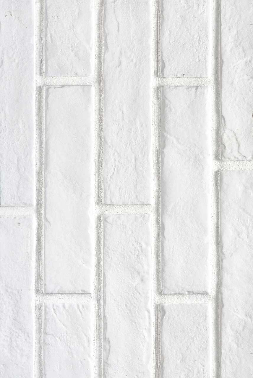 Backsplash Design Brickstone White Porcelain Tile