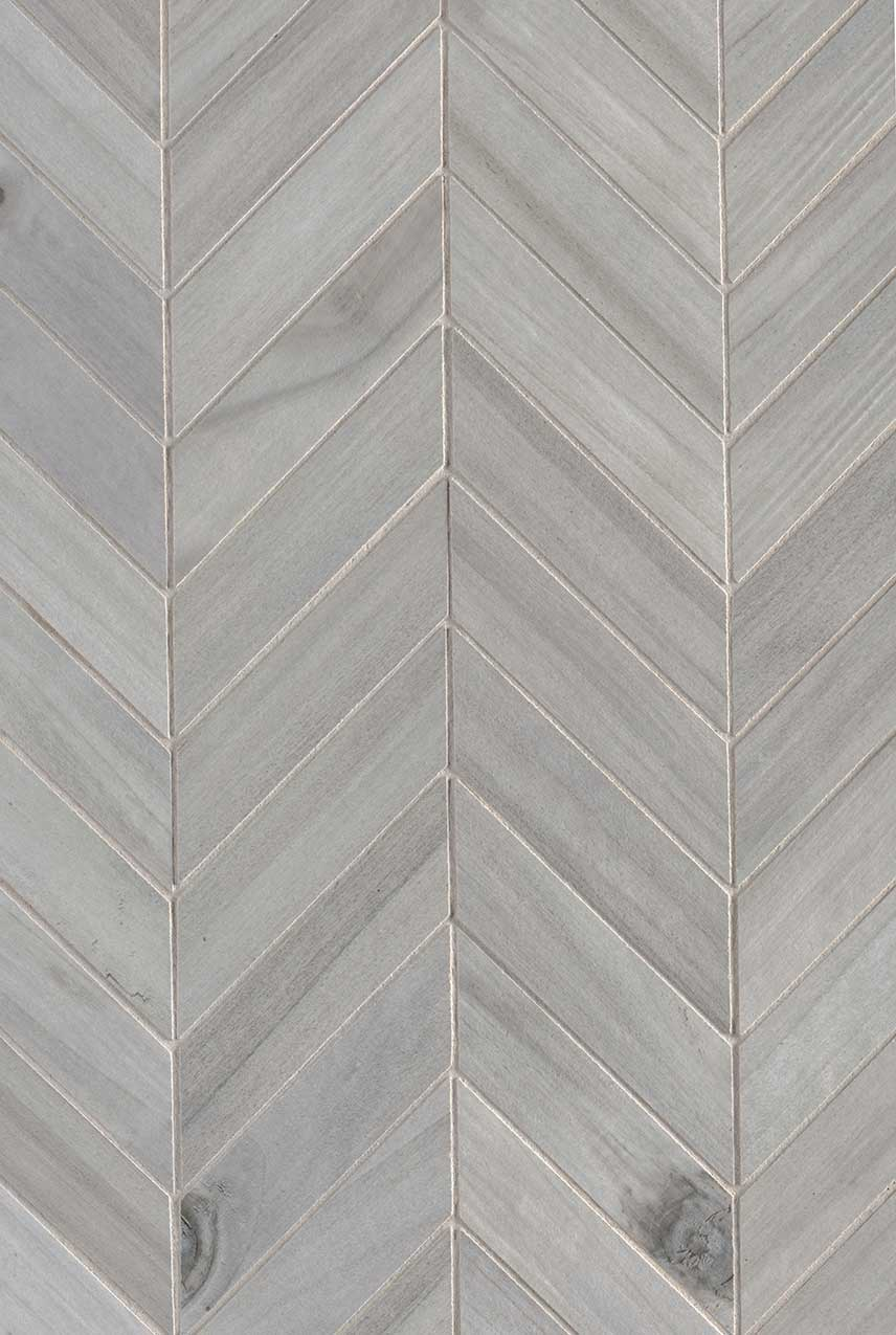 Havenwood Platinum Chevron Matte
