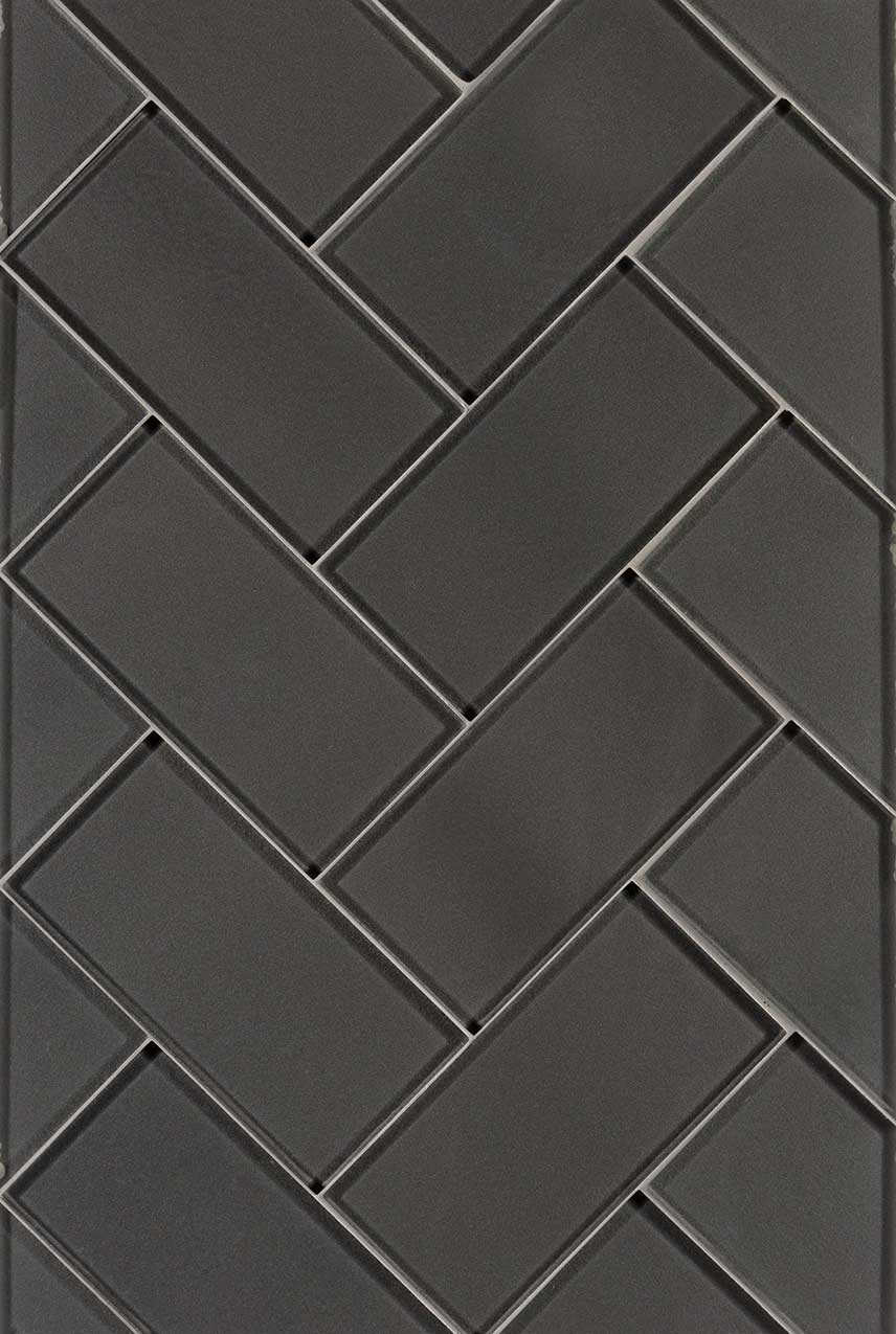 Metallic Gray Subway
