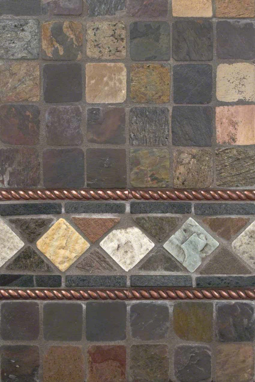 Backsplash Tile Guide Slate Copper Quartzside Backsplash