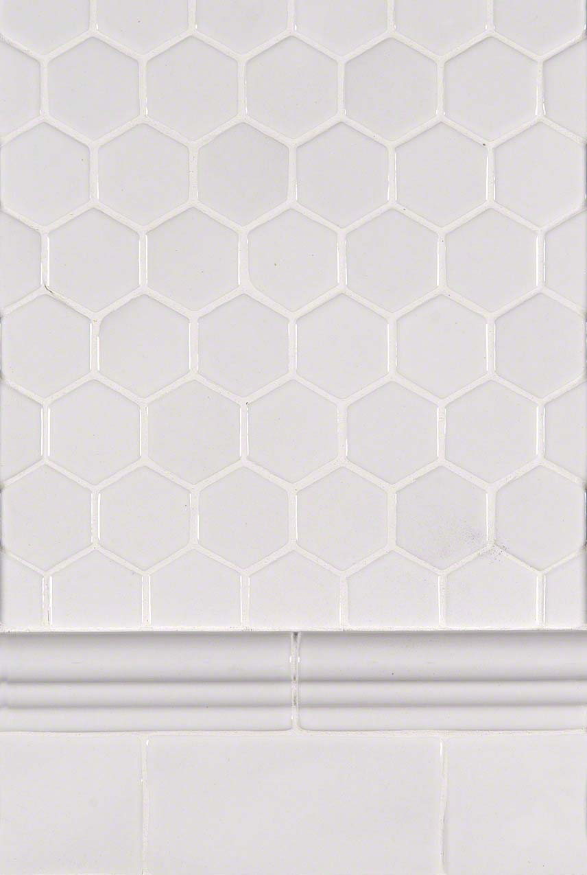 Whisper White Hexagon Trio