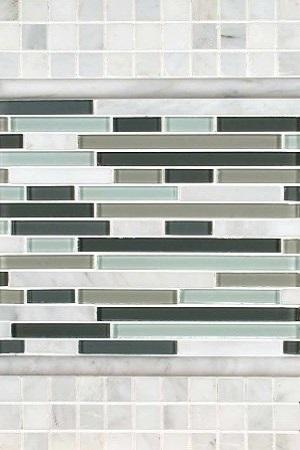 Arabescato Carrara Keystone Medley