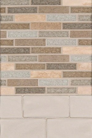 Crystal Vista and Highland Park Backsplash Design