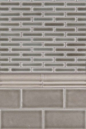 Dove Gray Backsplash Trio