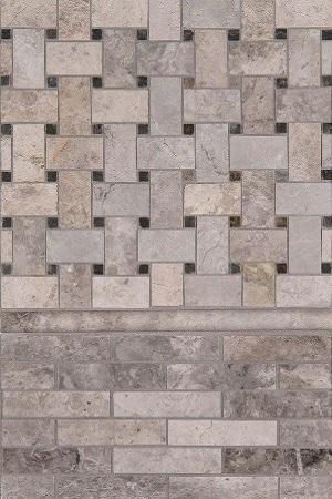 Tundra Gray Marble Trio