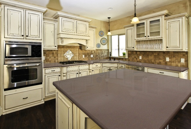The distinct similarities between quartz granite Kitchen countertops quartz vs solid surface