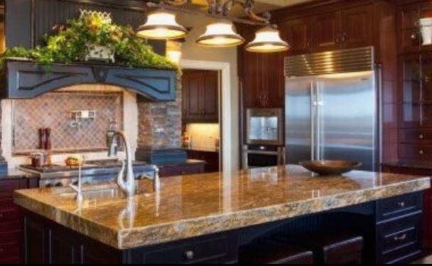 Granite countertops for 2 thick granite