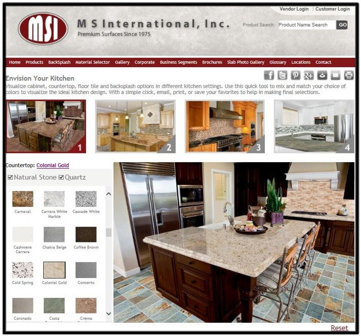 Kitchen Design Visualizer two great tools to design your kitchen: countertop edge visualizer