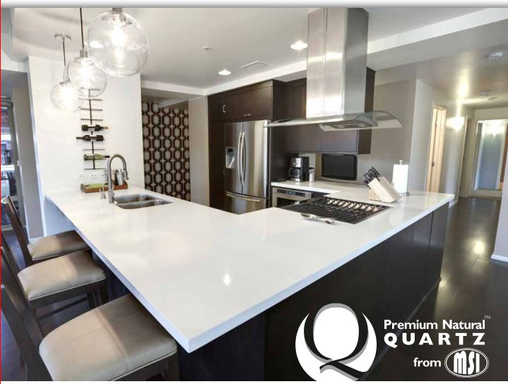 NEW Q Premium Natural Quartz Brochure Showcas