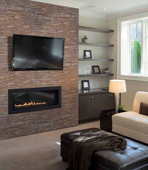 Enhance Your Fireplace With Natural Stone Led
