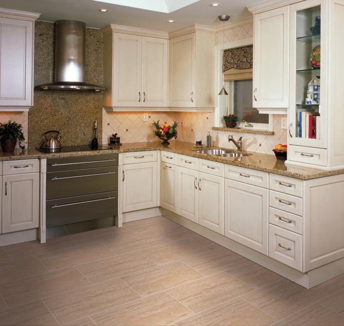 New Kitchen Flooring Trends: Part 2: Backsplashes & Flooring