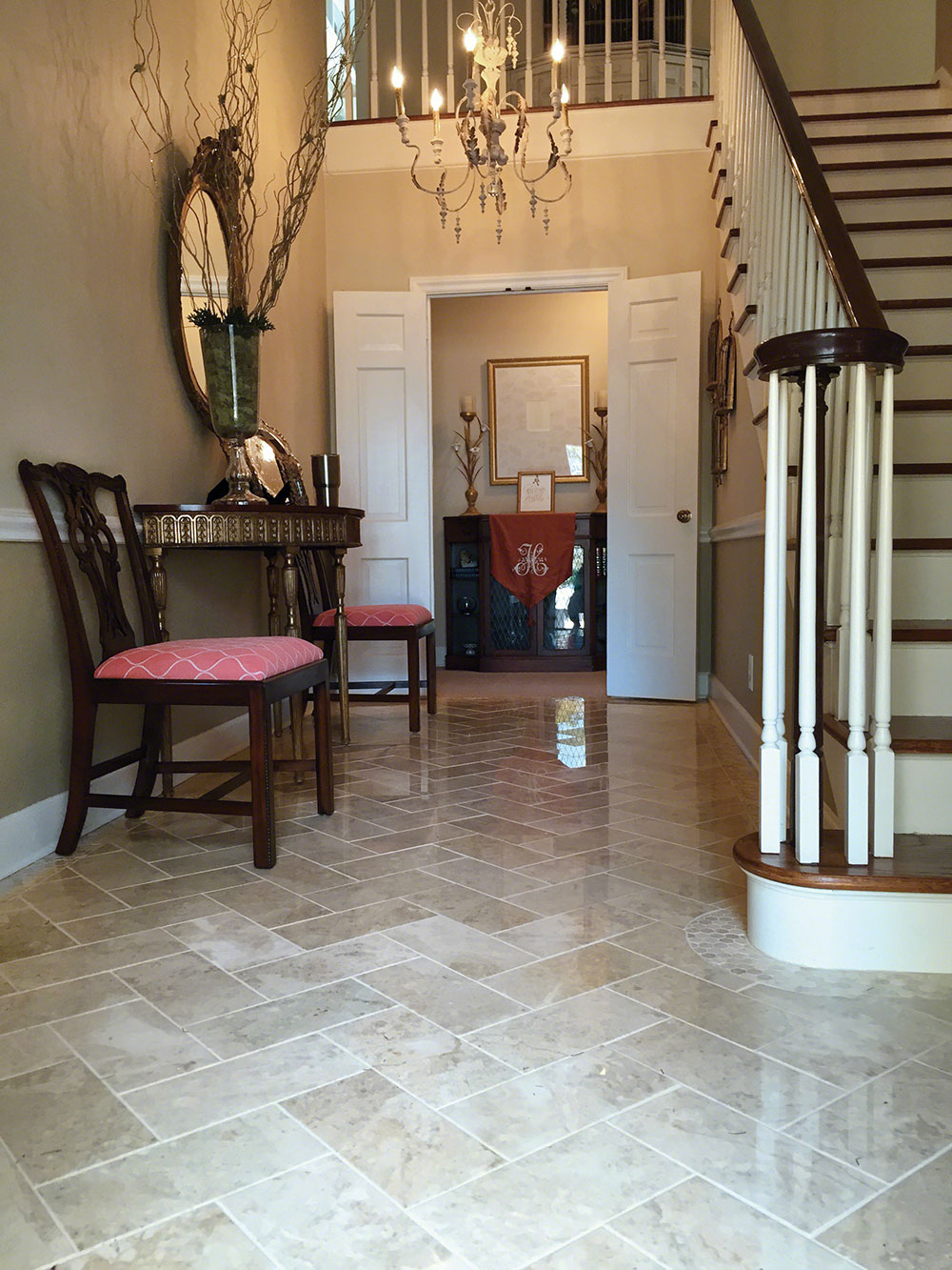 Tile For Entry Foyer : Tile flooring first impressions start with the foyer