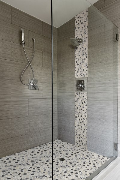 Show Stopping Bathrooms Unique Takes On Tile