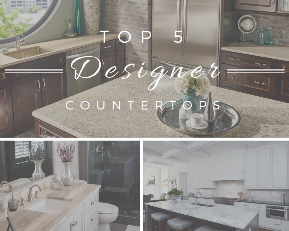 Top 5 Designer Countertops