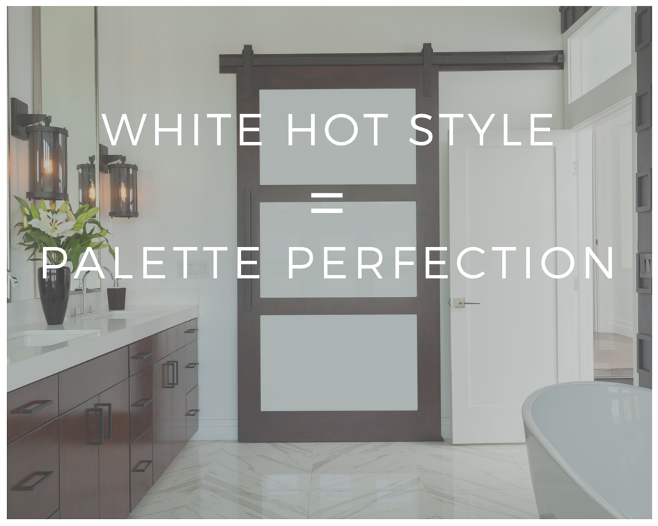 White-Hot Style = Palette Perfection