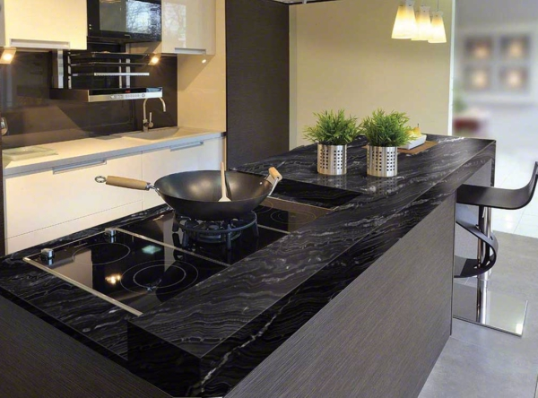 Take It for Granite: 9 Popular Black Granite Countertops