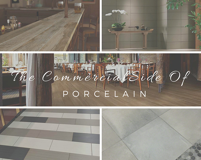 The Commercial Side Of Porcelain Tile: Exquis