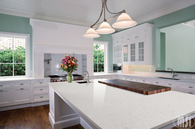 Current Obsessions 7 Dreamy White Quartz Countertops