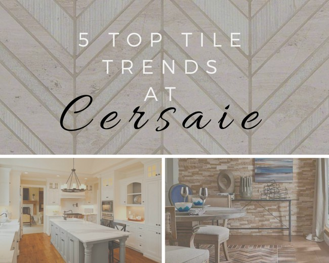 5 Top Tile Trends at CERSAIE