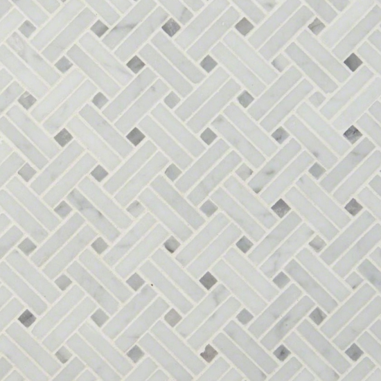 carrara-white-basketweave