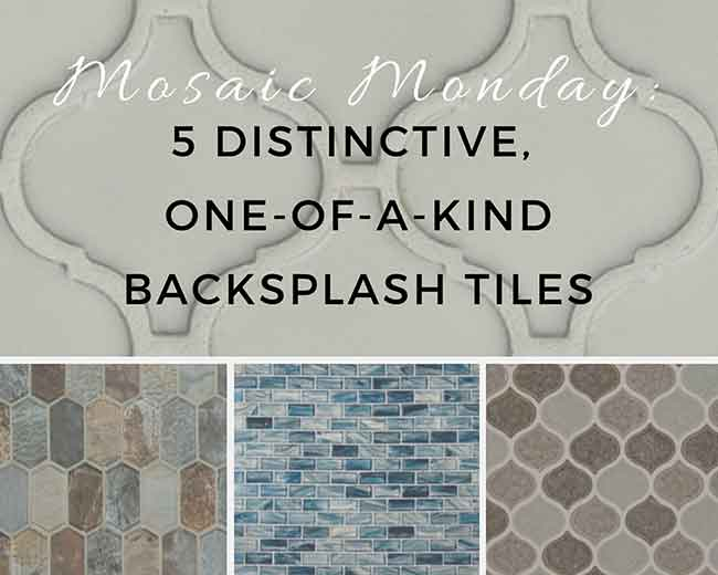 Mosaic Monday: 5 Distinctive, One-Of-A-Kind B