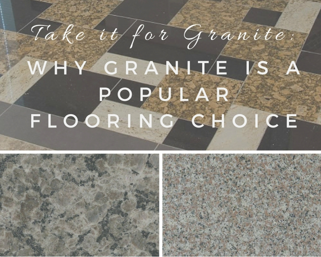 Take It for Granite: Why Granite Tile Is a Po