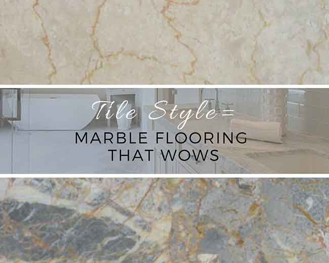Tile Style: Marble Flooring That Wows