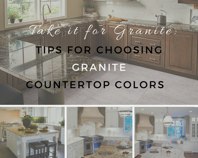 Take It for Granite: Tips for Choosing Granite Countertop Colors