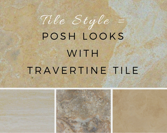 Tile Style: Posh Looks with Travertine Tile