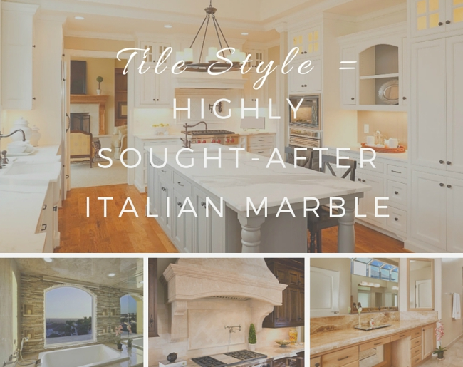 Tile Style: Highly Sought-After Italian Marbl