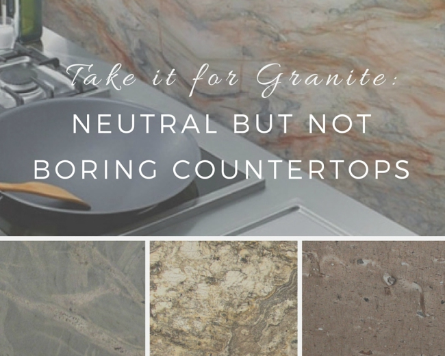 Take it for Granite: Neutral but not Boring C
