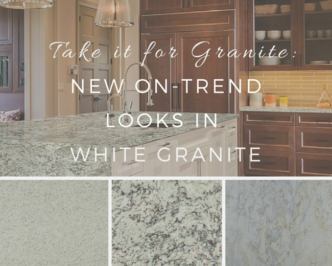 Take It for Granite: New On-Trend Looks in Wh