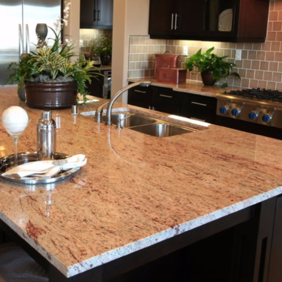 Take It For Granite Granite Colors With Romantic Hints Of