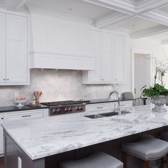 Trend To Watch White Marble Countertops