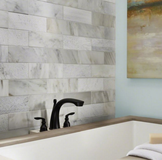 Tile Style: Downsize In Style-Neutral Wall Tiles For Small Kitchens