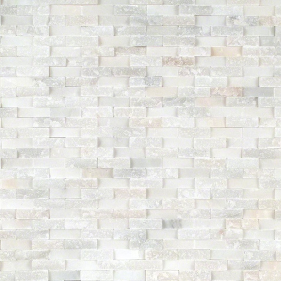 Featured  Greecian White Splitface Tile Style Adding Texture With Natural Stone Tiles