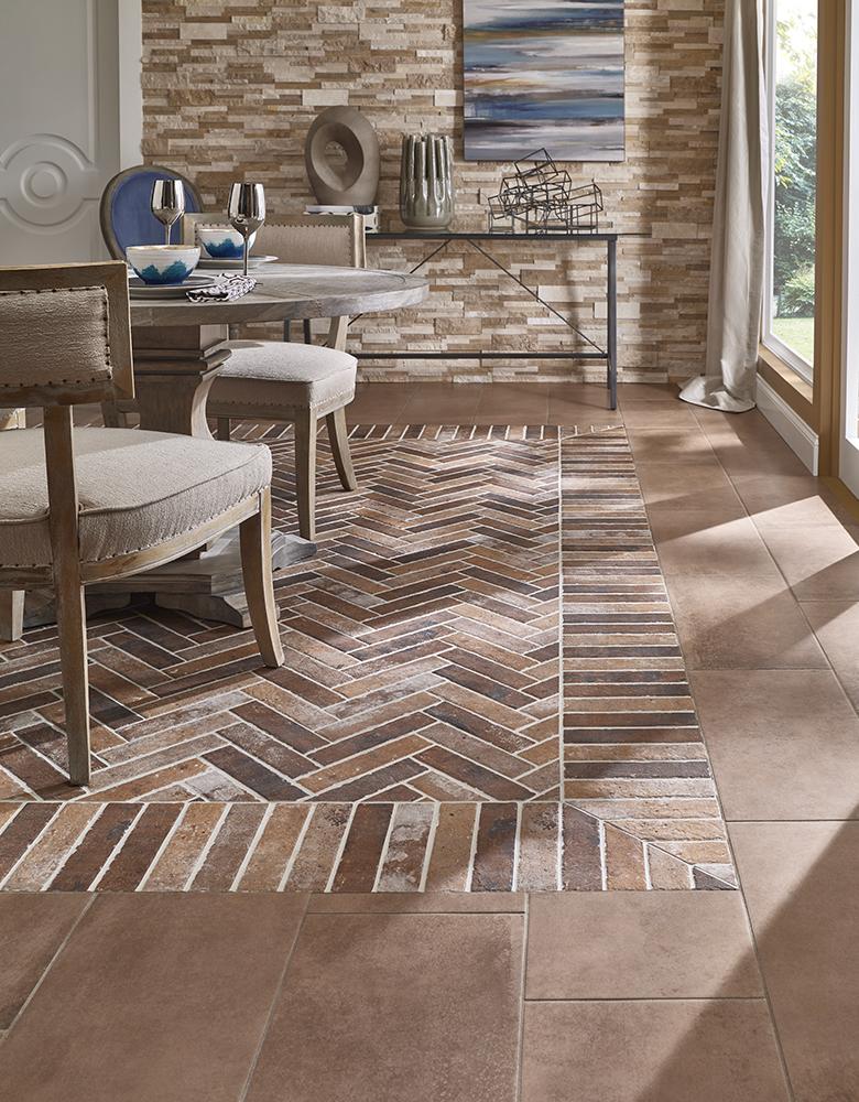 Flooring Tile Brick Look : Style statement porcelain brick tile
