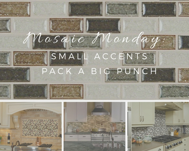 Mosaic Monday: Small Accents Pack a Big Punch