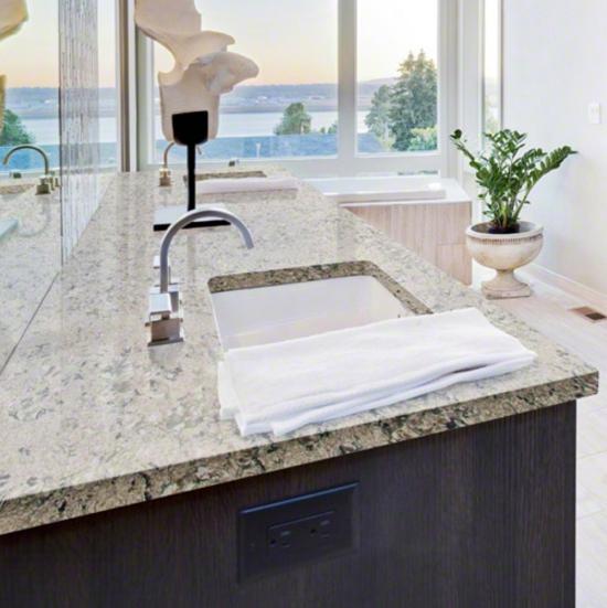 Current obsessions bathroom beauties with quartz countertops