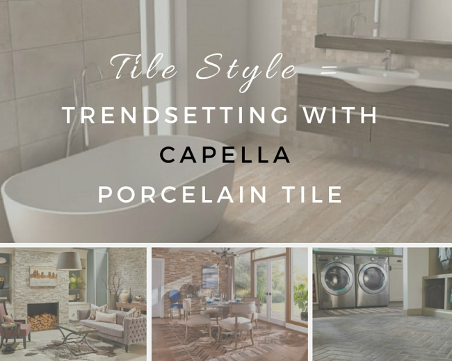 Tile Style: Trendsetting with Capella Porcela