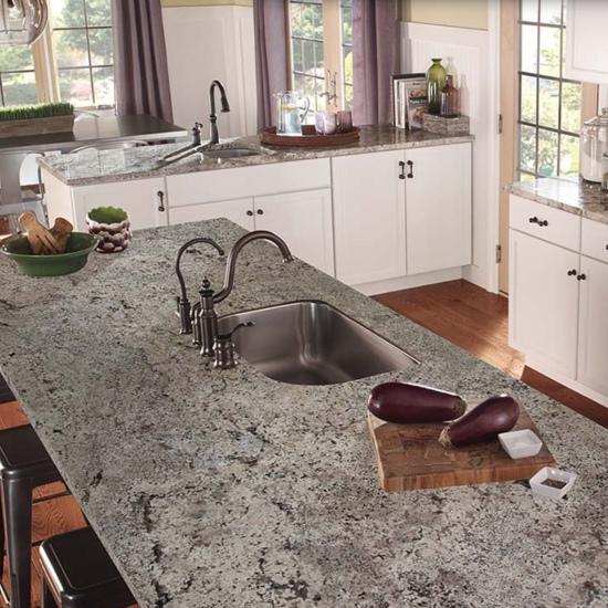 Featured Winter White Granite