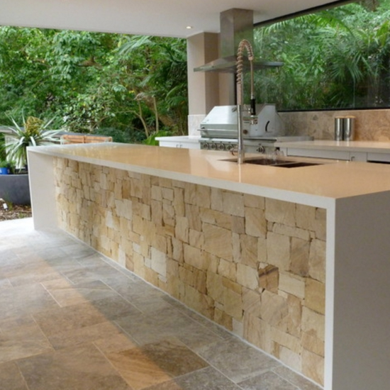 Brick Grills And Outdoor Countertops Building Your: Current Obsessions: Quartz Countertops For Indoor And