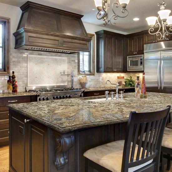 Contemporary Kitchen Counters: Modern Granite Countertops