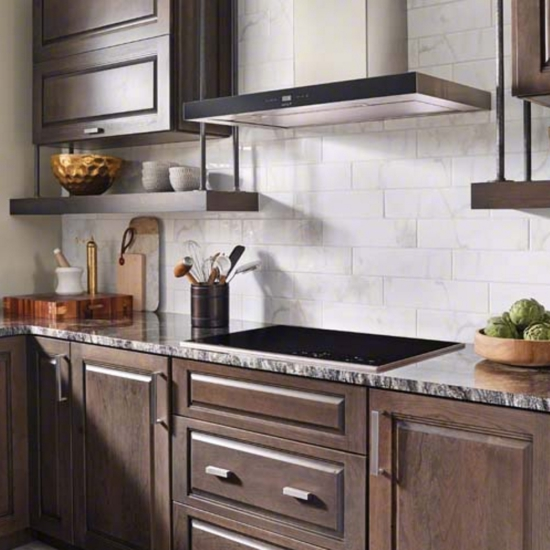 Large Subway Tile Kitchen Backsplash: Mosaic Monday: Modern Kitchen Backsplashes