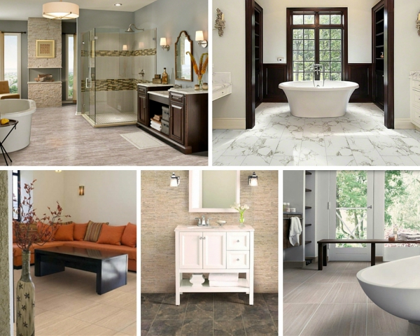 Tile Style: Pietra Porcelain - Fully Suited w