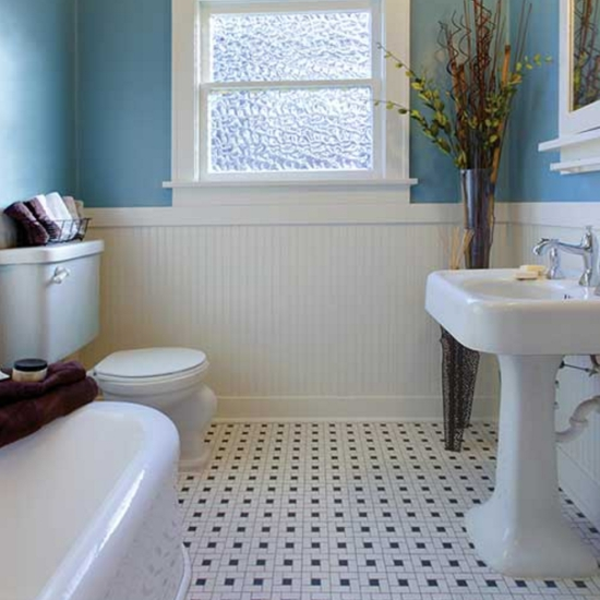 Mosaic Monday: Mosaic Tile Flooring
