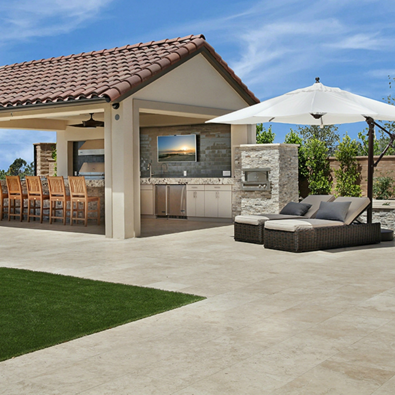 Add A Coastal Appeal To Your Kitchen With The Oasis: Outdoor Oasis: Outdoor Kitchen Delight