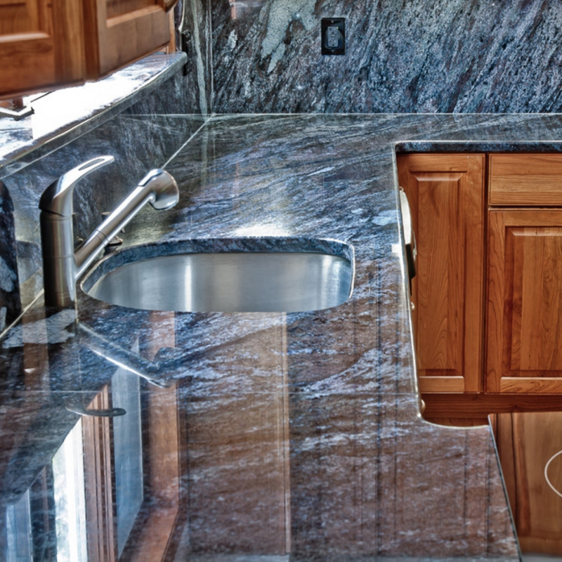 Exotic Stone Countertops : Bold and beautiful new exotic granite countertop