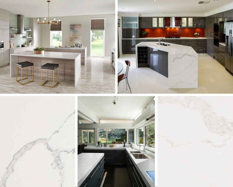 Current Obsessions: Marble Look Quartz Counte