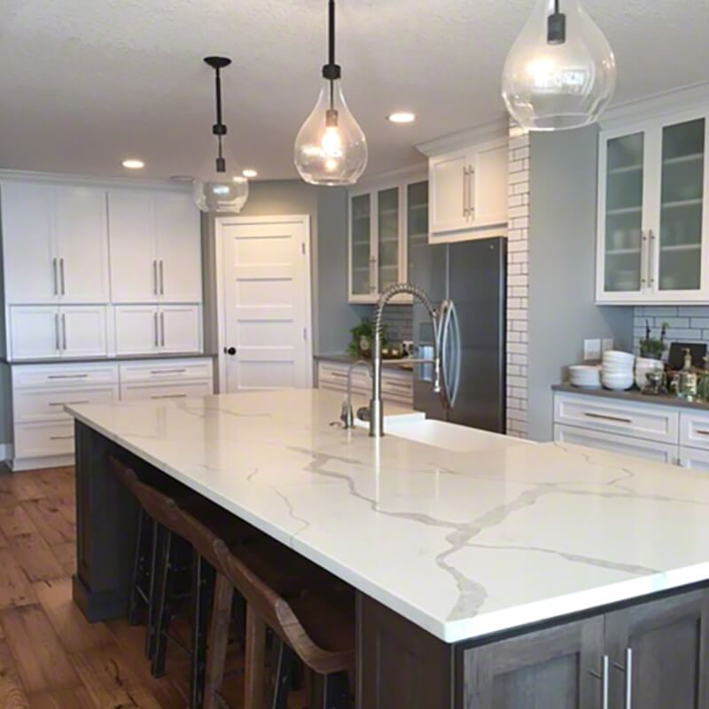 Marble Look Quartz Countertops Bstcountertops